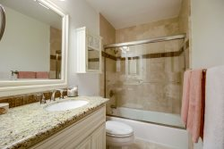 Full bathroom with shower\/tub combination