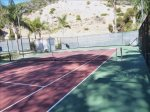 Tennis courts at Hamilton Cove