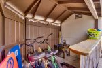 Enjoy riding your beach cruisers to Pacific Beach on a typical sunny San Diego day, this home is only 5 blocks to the Ocean