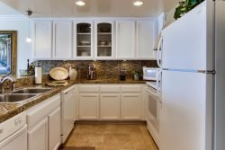 Country chic gourmet kitchen with granite - fully equipped for all your in home cooking needs.