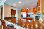 Beautiful remodeled kitchen with granite.