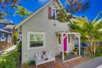 Mission Beach cottage with all of the charm