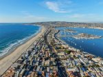 Views of Mission Beach from above.