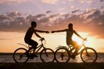 Bike around the bike path with the Beach Cruisers we provide you