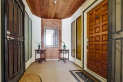 Entrance into your beautiful vacation rental
