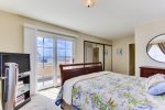 2nd Master bedroom suite with balcony doors.
