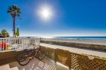 Stay right on the boardwalk with the Pacific Ocean as your front yard.