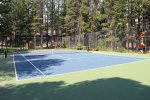 Mammoth Lakes Vacation Rental Sunshine Village Tennis Court