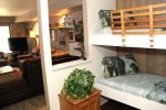 Mammoth Lakes Vacation Rental Sunshine Village 175 - Fully Equipped Kitchen Towards Dining Room