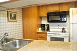 Mammoth Lakes Vacation Rental Sunshine Village 175 - Kitchen Counter Bar Area
