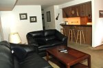 Mammoth Lakes Vacation Rental Sunshine Village 167 - Cozy Living Room