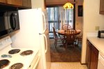 Mammoth Lakes Vacation Rental Sunshine Village 167 - Kitchen Towards Dining Room