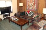 Mammoth Lakes Rental Sunshine Village 168 - Living Room has a Flat Screen TV