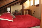 Mammoth Lakes Condo Rental Sunshine Village 168 - Loft has 1 Queen Bed and 2 Twin Beds