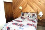 Mammoth Lakes Condo Rental Sunshine Village 150 - Second Bedroom has 1 Queen Bed