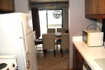 Mammoth Lakes Rental Sunshine Village 103 - Kitchen Towards Dining Room