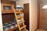Mammoth Lakes Condo Rental Sunshine Village 103 - Twin Bunk Alcove Sleeping Area