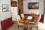 Mammoth Lakes Condo Rental Sunshine Village 103 - Dining Room Towards Kitchen