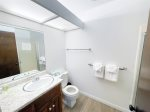 Mammoth Lakes Rental Sunshine Village 157 - Master Bedroom has 1 Queen Bed