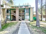 Mammoth Lakes Vacation Rental Sunshine Village 173 - Master Bedroom has 1 Queen Bed and Closet