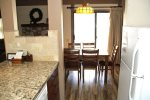 Mammoth Lakes Rental Sunshine Village 136 - Upgraded Kitchen Towards Dining Room