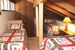 Mammoth Lakes Vacation Rental Sunshine Village 136 - Loft has 1 Queen Bed and 2 Twin Beds