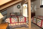 Mammoth Lakes Condo Rental Sunshine Village 136 - Loft has 1 Queen Bed and 2 Twin Beds