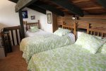 Mammoth Lakes Vacation Rental Sunshine Village 138 - Loft has 1 Full Bed and 2 Twin Beds