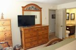 Mammoth Condo Rental Sunshine Village 148 Master bedroom towards private bath