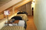 Mammoth Condo Rental Sunshine Village 148 loft has 3 twin beds