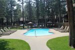 Mammoth Lakes Condo Rental Sunshine Village Pool Area