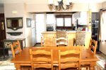 Mammoth Lakes Vacation Rental Sunrise 9 - Dining Room and Kitchen
