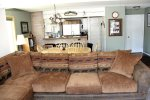 Mammoth Lakes Condo Rental Wildflower 2 - Living Room towards kitchen
