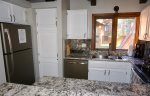 Mammoth Lakes Vacation Rental Sunrise 1- Fully Equipped Kitchen with Granite and Stainless Appliances
