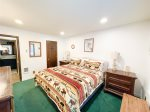 Mammoth Lakes Vacation Rental Wildflower 61 -Master Bedroom with a Comfortable King Bed