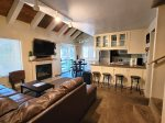 Mammoth Condo Rental - Heritage Condominium 207 - Living Room