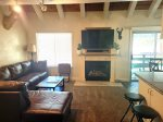 Mammoth Lakes Vacation Rental - Heritage Condominium 207 - Living Room Seating Area