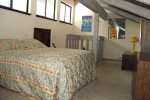Mammoth Lakes Vacation Rental Sunshine Village 166 - Loft has 1 Queen Bed and 1 Set of Bunk Beds