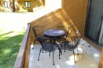 Mammoth Condo Rental Wildflower 41: Private Deck Space