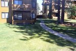 Mammoth Condo Rental Wildflower 41- View Of The Ground Floor Corner Unit Just Steps Away From The Parking Lot.