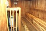 Mammoth Condo Rental Wildflower 41- Common Area Dry Sauna