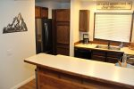 Mammoth Condo Rental Wildflower 41:Fully Equipped Kitchen With All New Appliances.