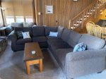 Mammoth Condo Rental Mountainback 19- Living Room with Beautiful Large Windows