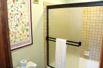 Mammoth Condo Rental Mountainback 19- Comfortable King Size Bed and Large Closet in the Master Bedroom