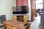 Mammoth Condo Rental Mountainback 19- Living Room, Dining Room, Stairs to the Loft