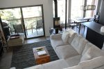 Mammoth Condo Rental Timber Ridge 19- Open Floor Plan Living Room, Dining Room and Kitchen