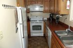 Mammoth Condo Rental Wildrose 9: Fully Equipped Kitchen