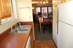 Mammoth Condo Rental Wildrose 9: Fully Equipped Galley Kitchen