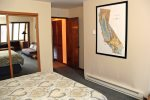Mammoth Condo Rental Wildrose 9: Second bedroom entrance from the hall