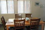 Mammoth Condo Rental Wildrose 9: Dining area with seating for 6
